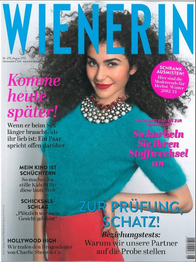 Presse Cover Wienerin Magazin