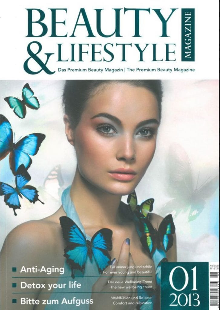 Presse Cover Beauty & Lifestyle Magazin
