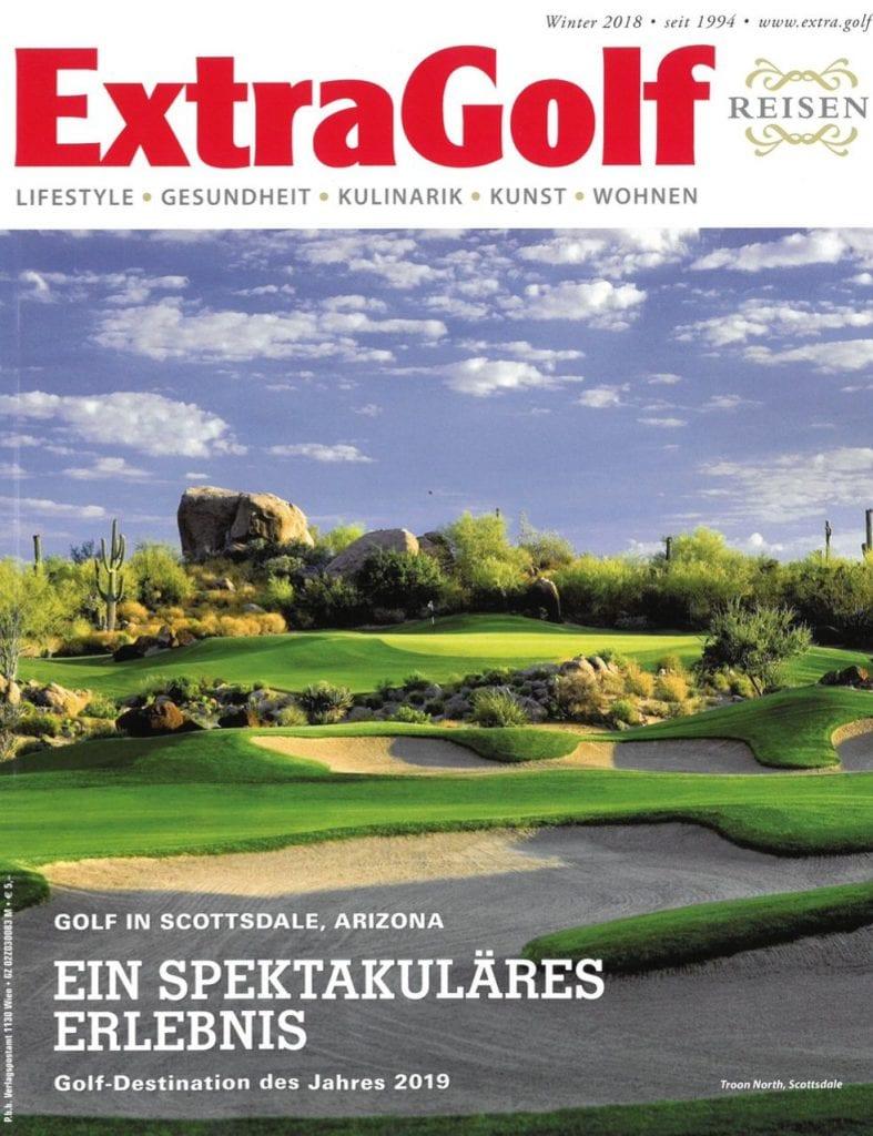 Presse Cover ExtraGolf Magazin