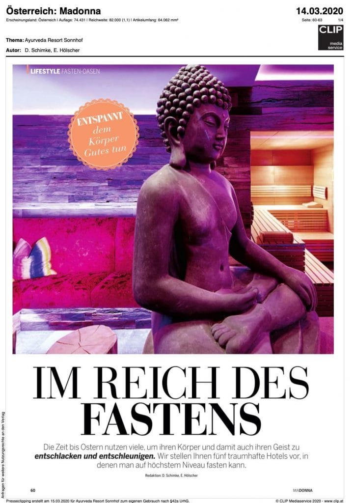 Presse Cover Magazin