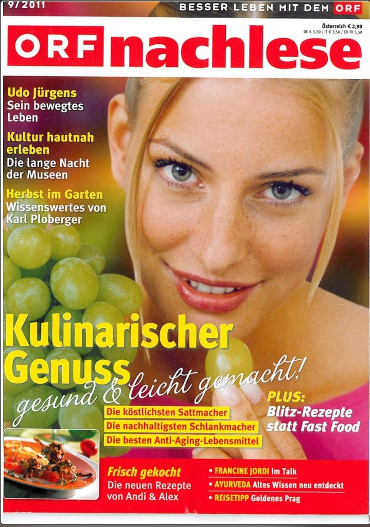 Presse Cover ORF nachlese Magazin
