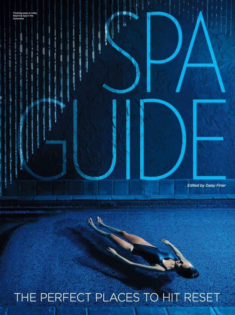 Presse Cover Spa Guide Magazin