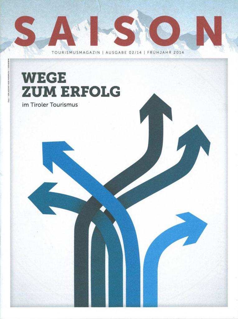 Presse Cover Saison Magazin