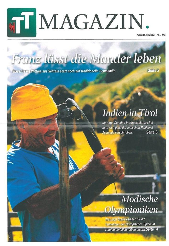 Presse Cover TT Magazin. Magazin