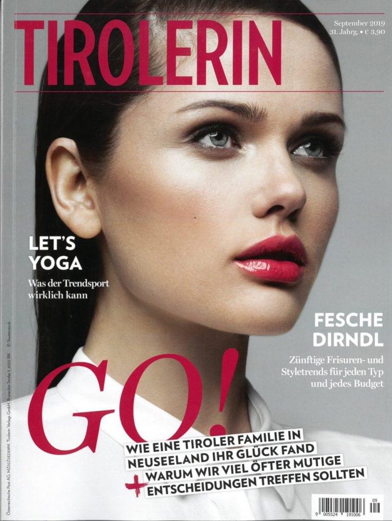 Presse Cover Tirolerin Magazin