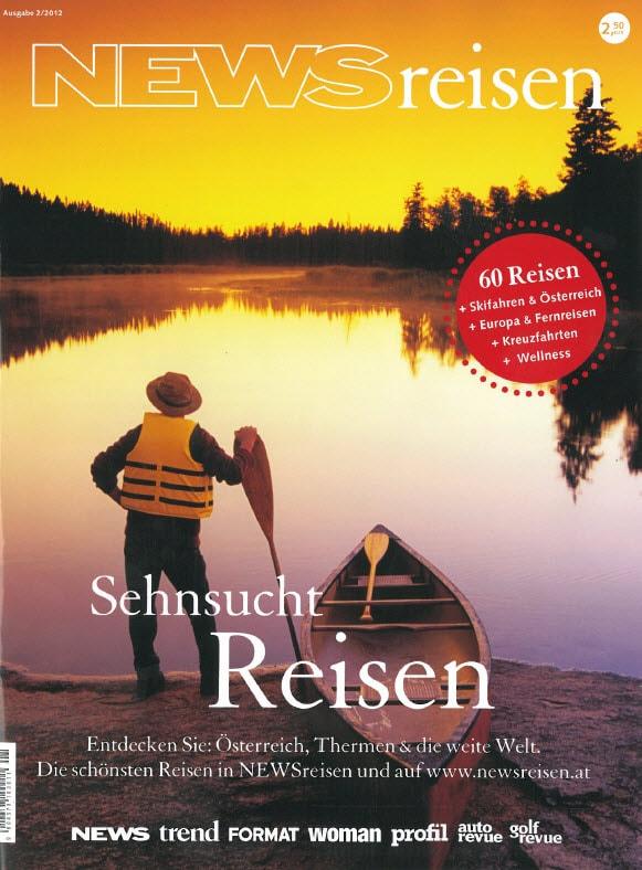 Presse Cover NewsReisen Magazin