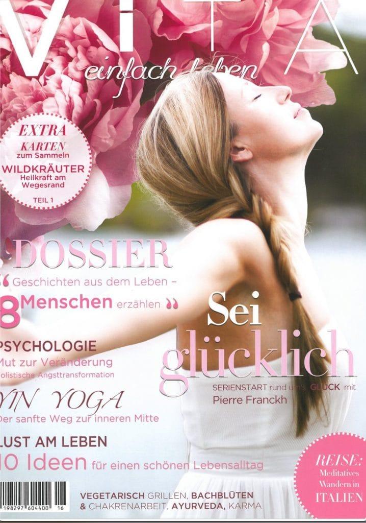 Presse Cover Vita einfach leben Magazin