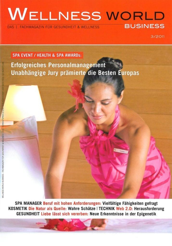 Presse Cover Wellness World Magazin