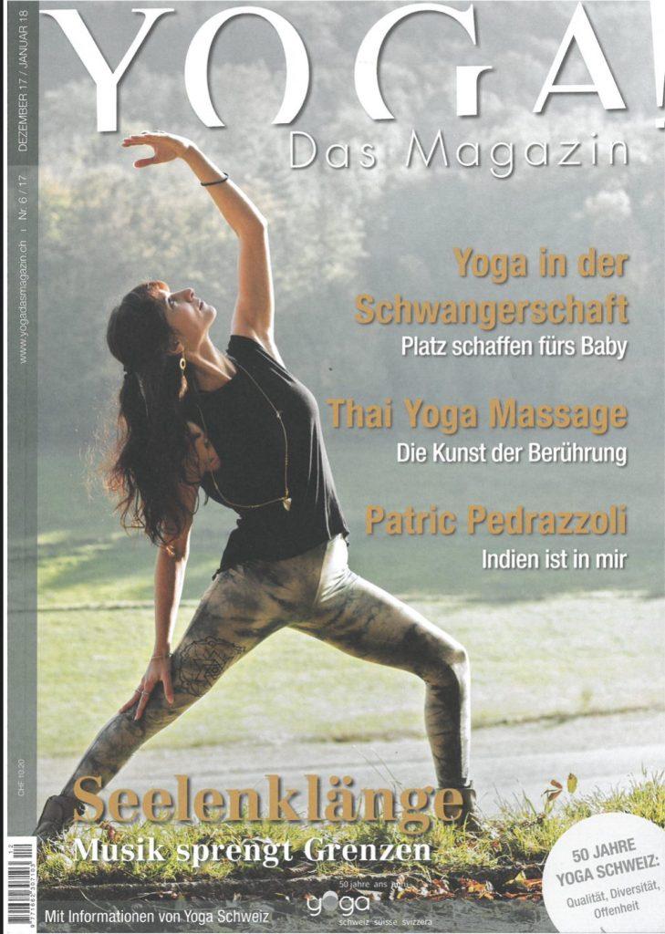 Presse Cover Yoga Magazin