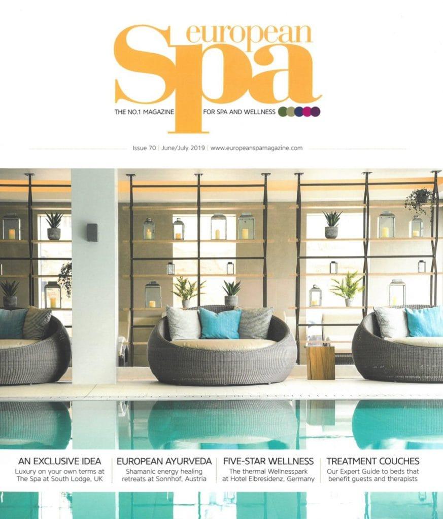 Presse Cover European SPA Magazin