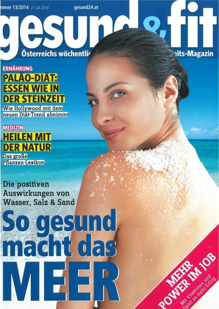 Presse Cover gesund & fit Magazin