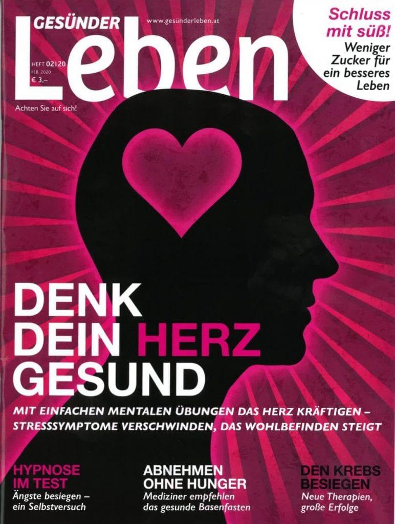 Presse Cover Gesünder Leben Magazin