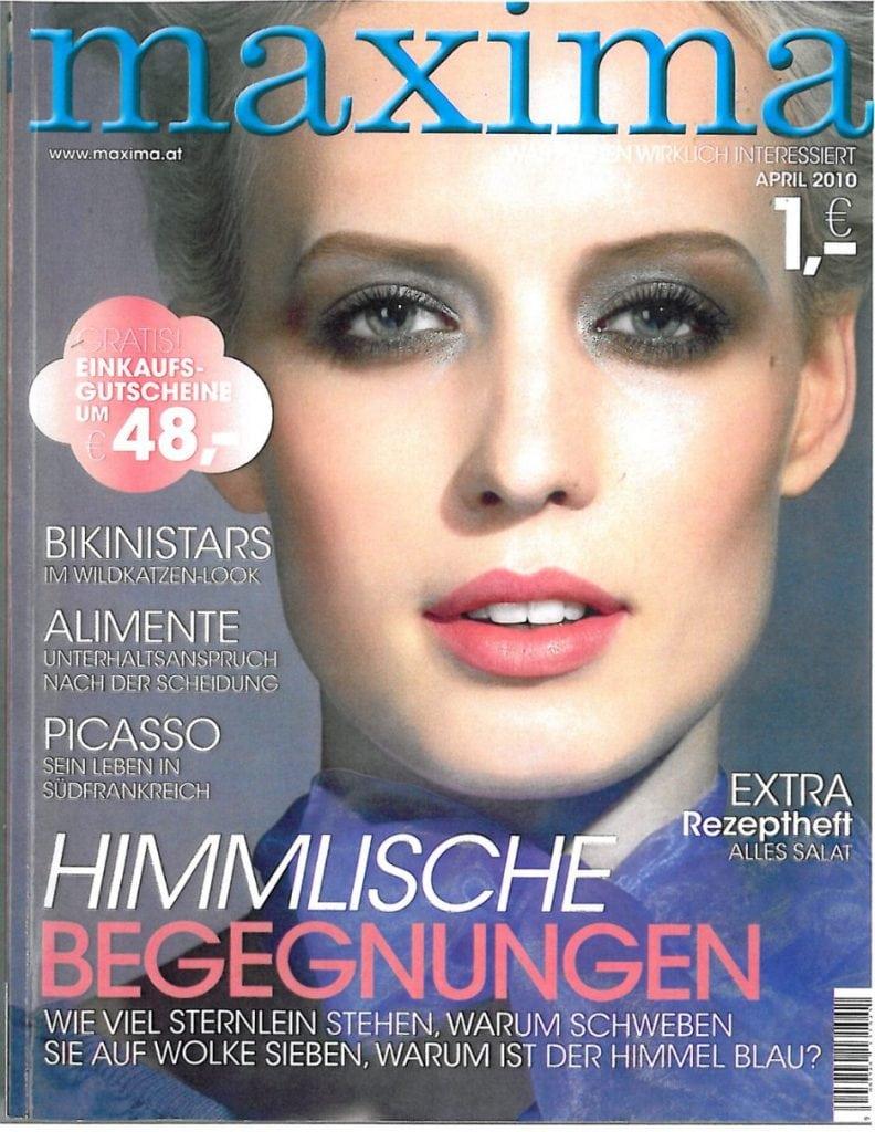 Presse Cover Maxima Magazin