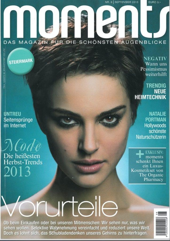 Presse Cover Moments Magazin