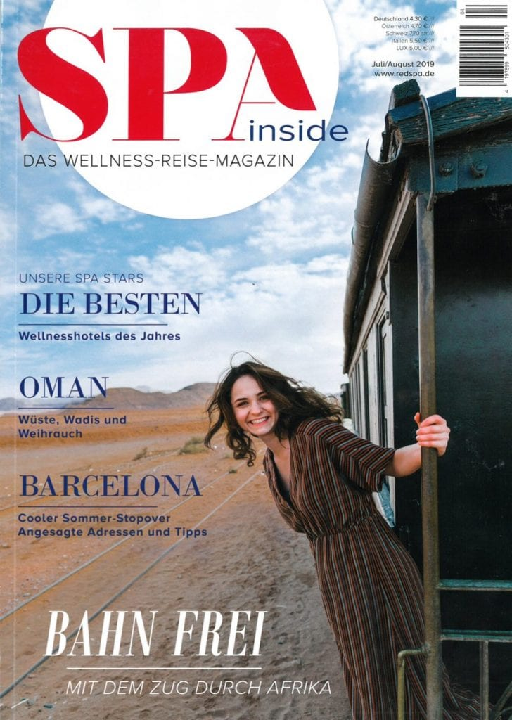 Presse Cover Spa inside Magazin