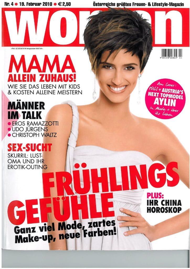 Presse Cover Woman Magazin